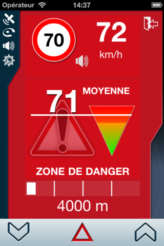 alertes application Coyote