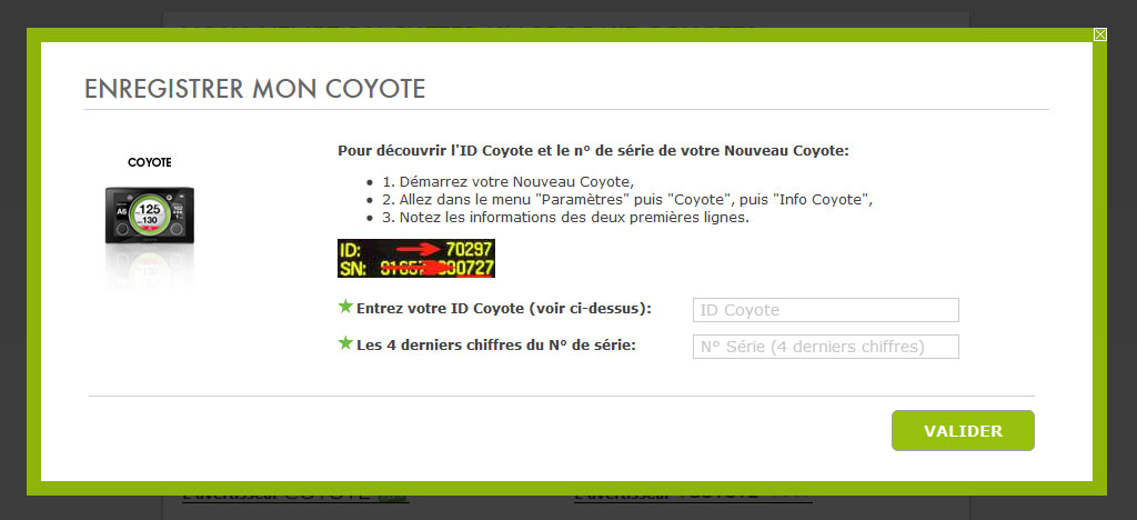 comment marche i coyote
