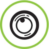 picto dashcam intégrée