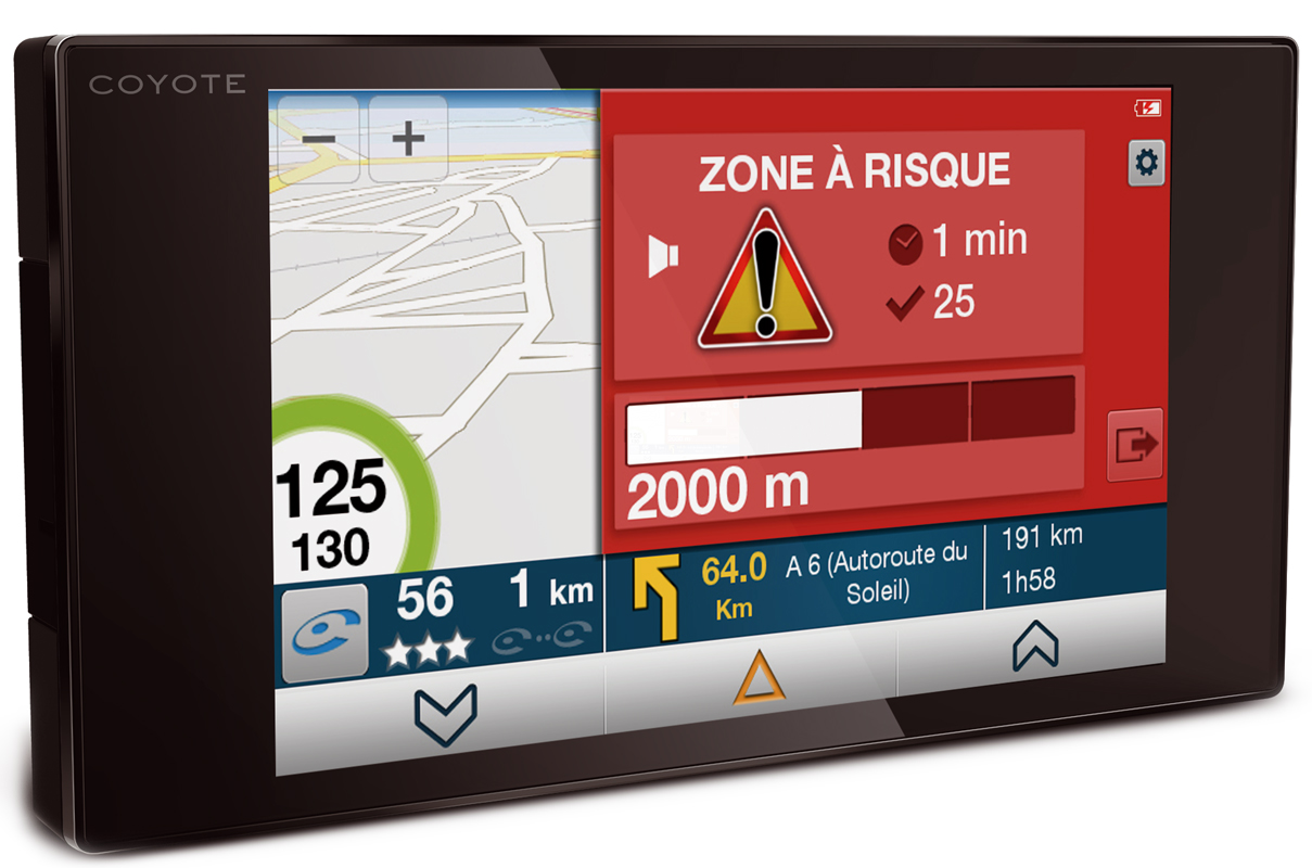 COYOTE - avertisseur GPS Coyote NAV