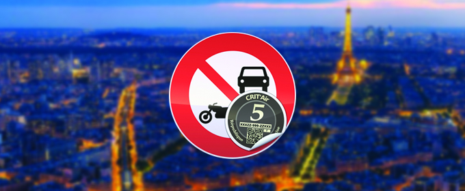 Votre véhicule est équipé d'une vignette Crit'air de niveau 5, avez-vous le droit de circuler dans une zone à circulation restreinte ?