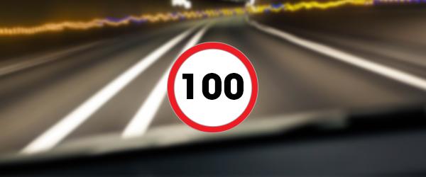 Quand nous marchons, nous disposons d'un champ de vision de 180°. Lorsque vous roulez à 100 km/h votre champ visuel est de :