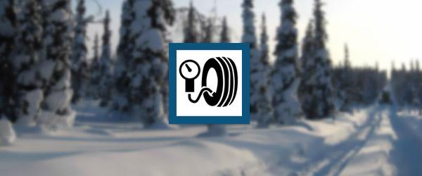 En hiver, la pression des pneus est plus basse. Il est recommandé d'ajouter...