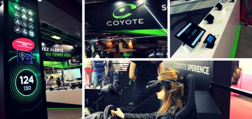 Coyote au Mondial de l'Automobile 2016