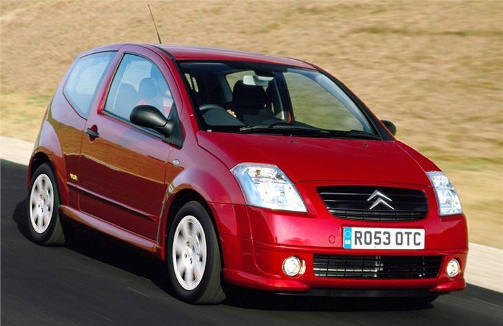 Lors de quelle édition du salon de Francfort la Citroën C2 fut-elle présentée ?