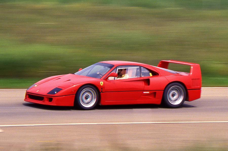 En quelle année fut présentée la Ferrari F40 au salon de Francfort ?
