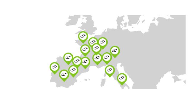Combien de membres sont présents dans la Communauté Coyote en Europe ?