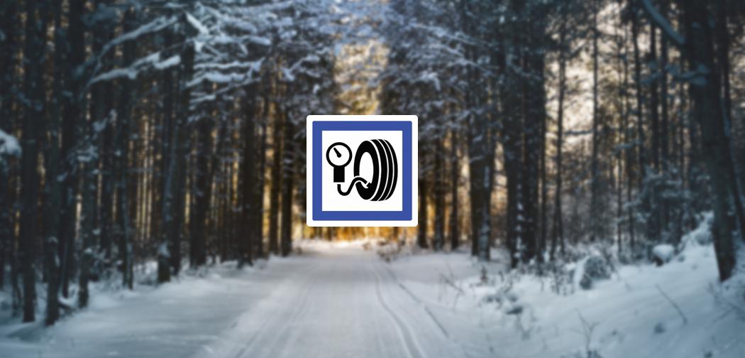 Quelle est la recommandation de pression pneumatique en hiver ?