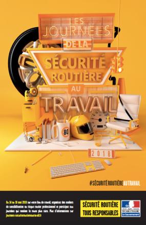 Journées de la Sécurité Routière au travail du 14 au 18 mai 2018