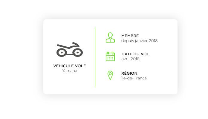 Yamaha volatilisée