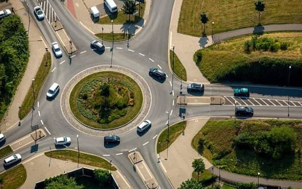 code de la route et ronds-points