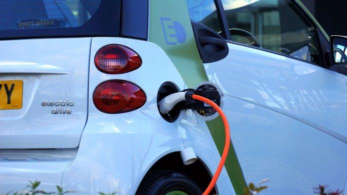Borne de chargement de voiture électrique