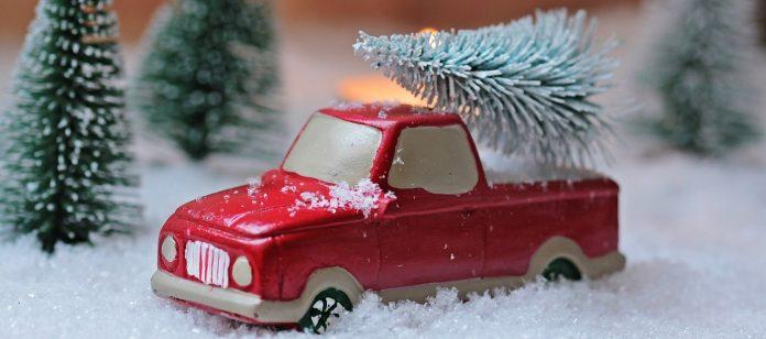 Prendre la voiture à Noël