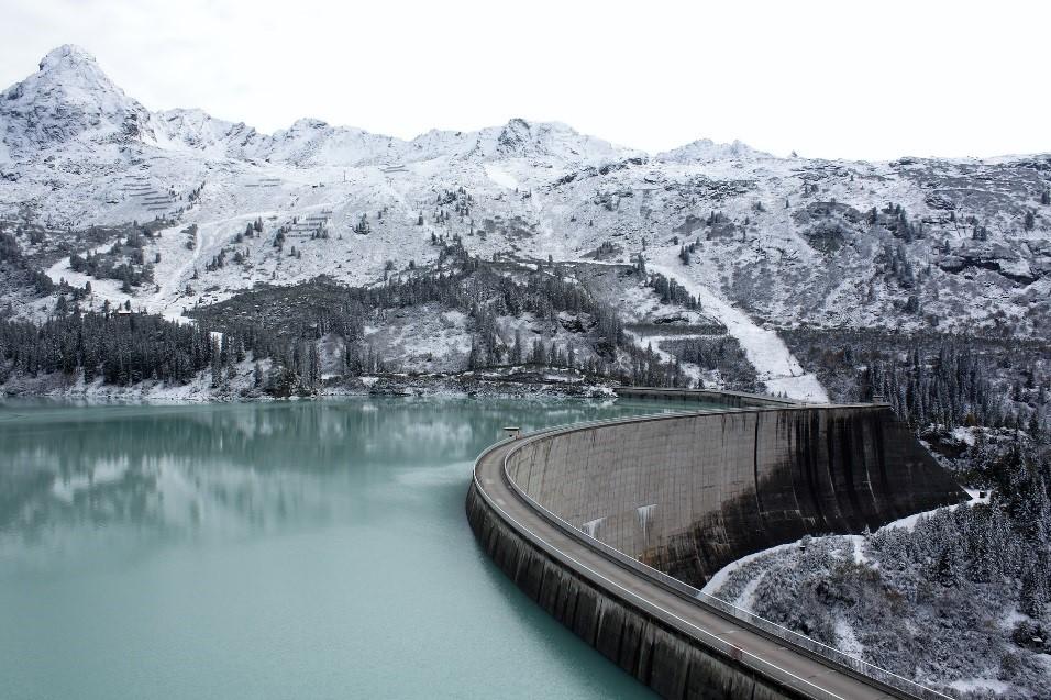 Route de la Silvretta en Autriche