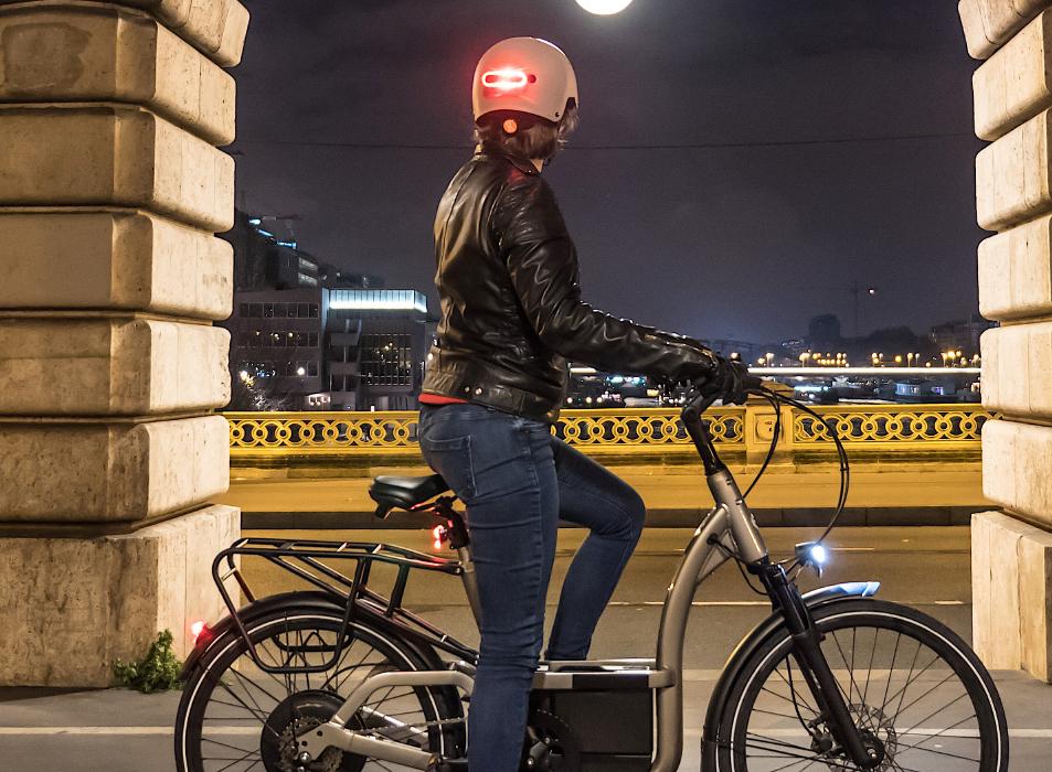 personne sur un vélo
