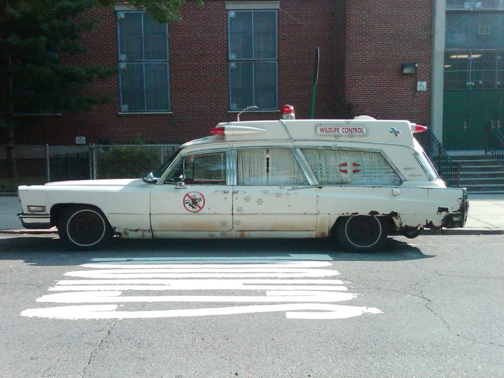 Voiture des Ghostbusters