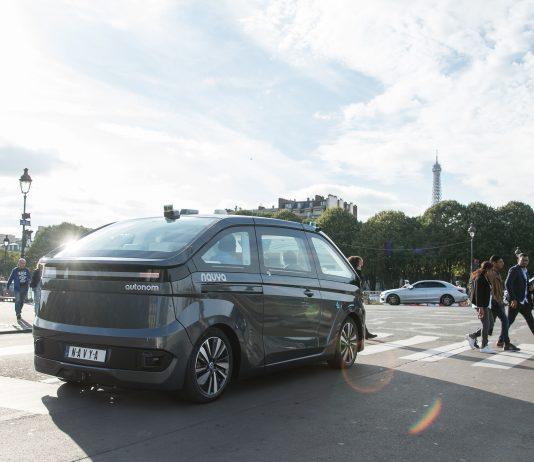 Robot-taxi Navya