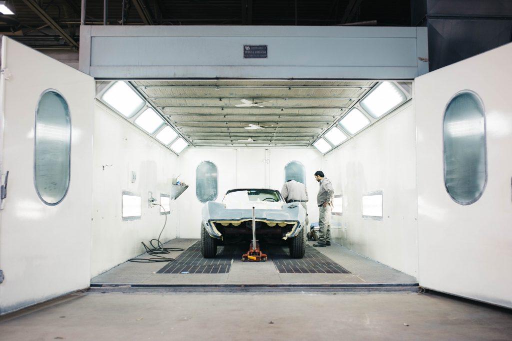 Atelier de construction de voiture