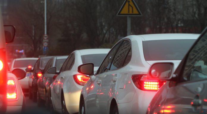 Embouteillage de voitures